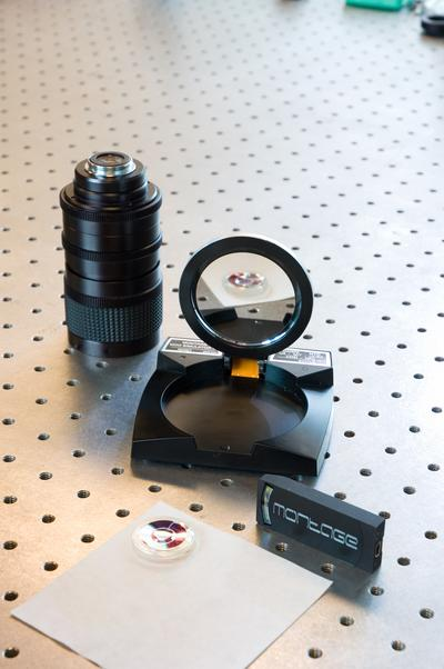 Traditional lens and light-folding prototypes
