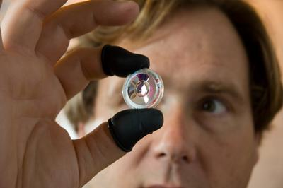 "Joseph Ford looks at an ""origami lens"""