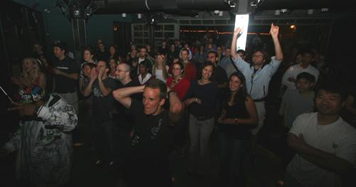 Crowd at Jacobs School of Rock