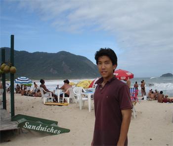 Justin Ma in Rio