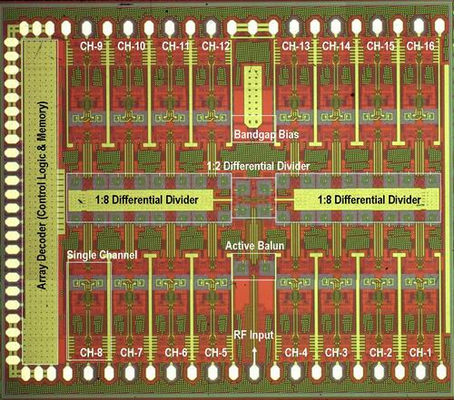 Rebeiz Phased Array Chip Oct 2007