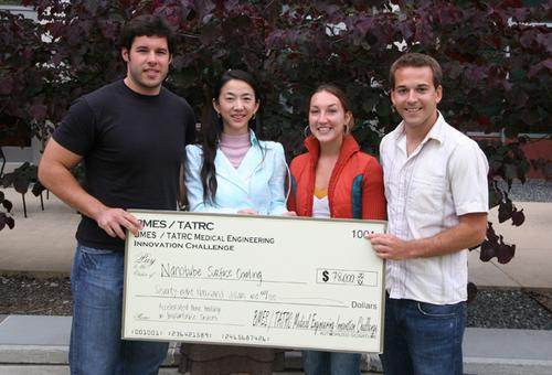 A UCSD Jacobs School of Engineering Team Took First Place at 2008 USC Business Plan Competition