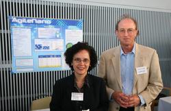 Rosibel Ochoa and Larry Cohn