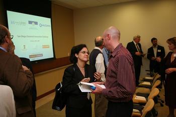 Rosibel Ochoa at Clean Tech Event