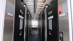 Sun data center interior