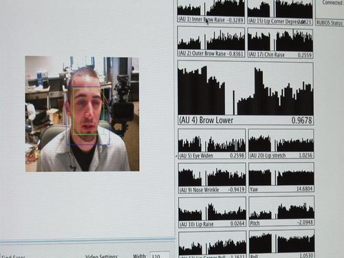 Jacob Whitehill and face expression recogniton software