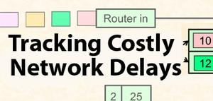 tracking network delays