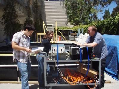 Underwater sensors team