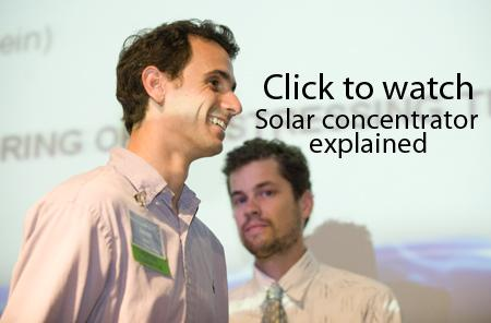 Solar concentrator explained