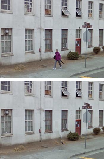 pedestrian remover umbrella