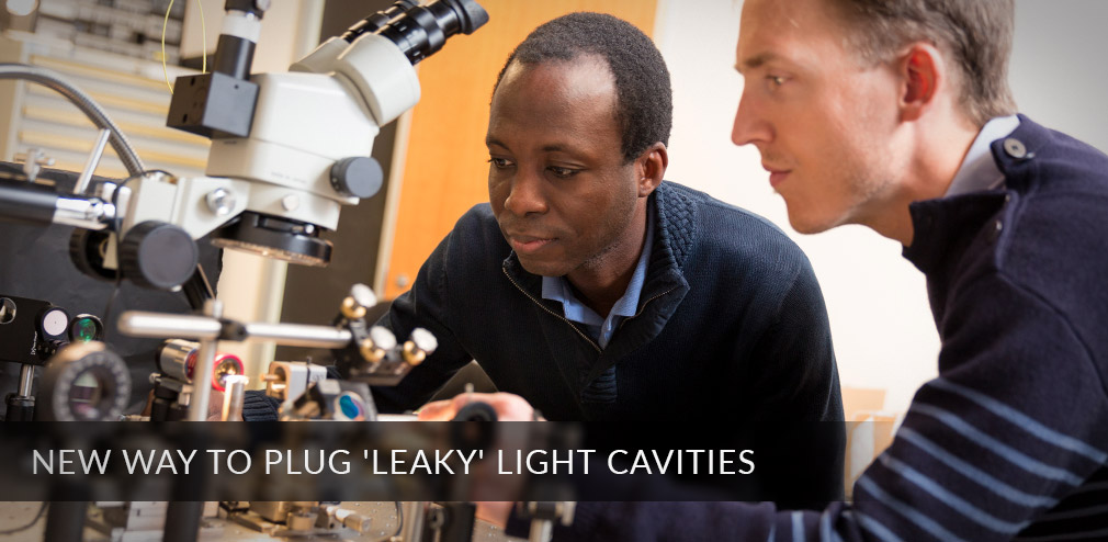Researchers Demonstrate New Way To Plug 'Leaky' Light Cavities