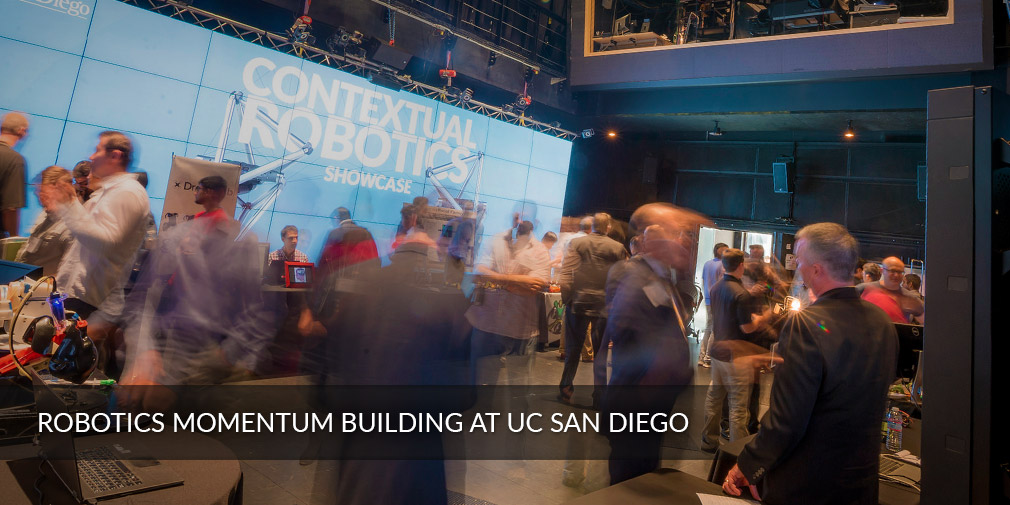 Robotics momentum building at UC San Diego