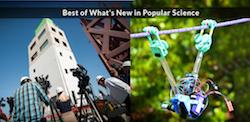 UC San Diego Shake Table, Robot Win <br> Best of What's New Awards from Popular Science