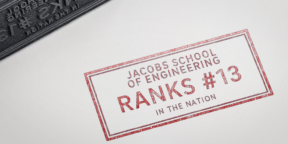 UC San Diego Jacobs School of Engineering Ranked #13 in 2018 U.S. News and World Report Graduate School Rankings
