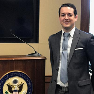 UC San Diego Engineer Talks Tech with Congressional Staff in Washington, D.C.