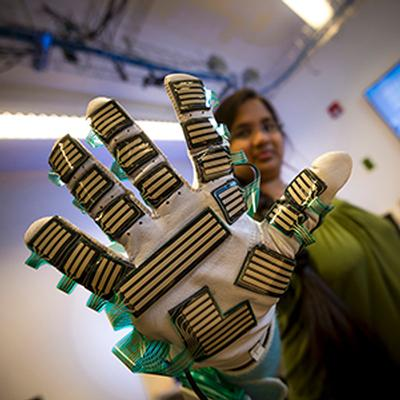 Sensor-filled glove could help doctors take guesswork out of physical exams