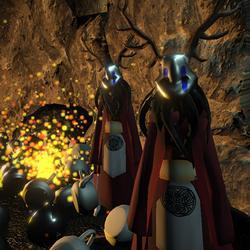 Seniors Make Final Tweaks to CSE 125 Multiplayer Videogames