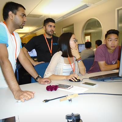 High School Students Get a Taste of Studying Computer Science at UC San Diego