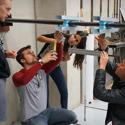 Structural Engineering Students Design, Build and Test Unmanned Aerial Vehicle Wings