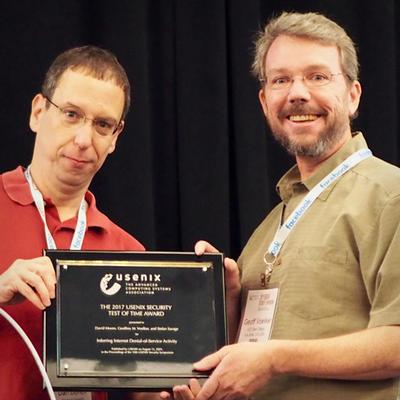 Computer Security Experts Honored for Research that Stands the Test of Time