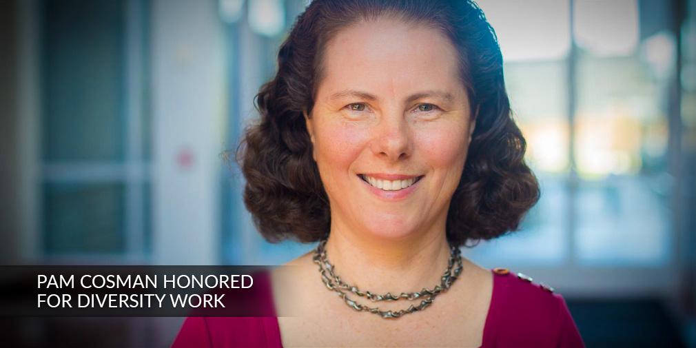 UC San Diego Electrical Engineering Professor Pam Cosman Wins Diversity Award