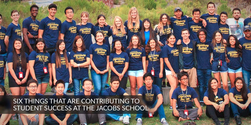 Six Things That Are Contributing to Student Success at the Jacobs School