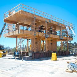 Earthquake Shake Tests at UC San Diego <br> Toward 20-story Earthquake-safe Buildings Made from Wood