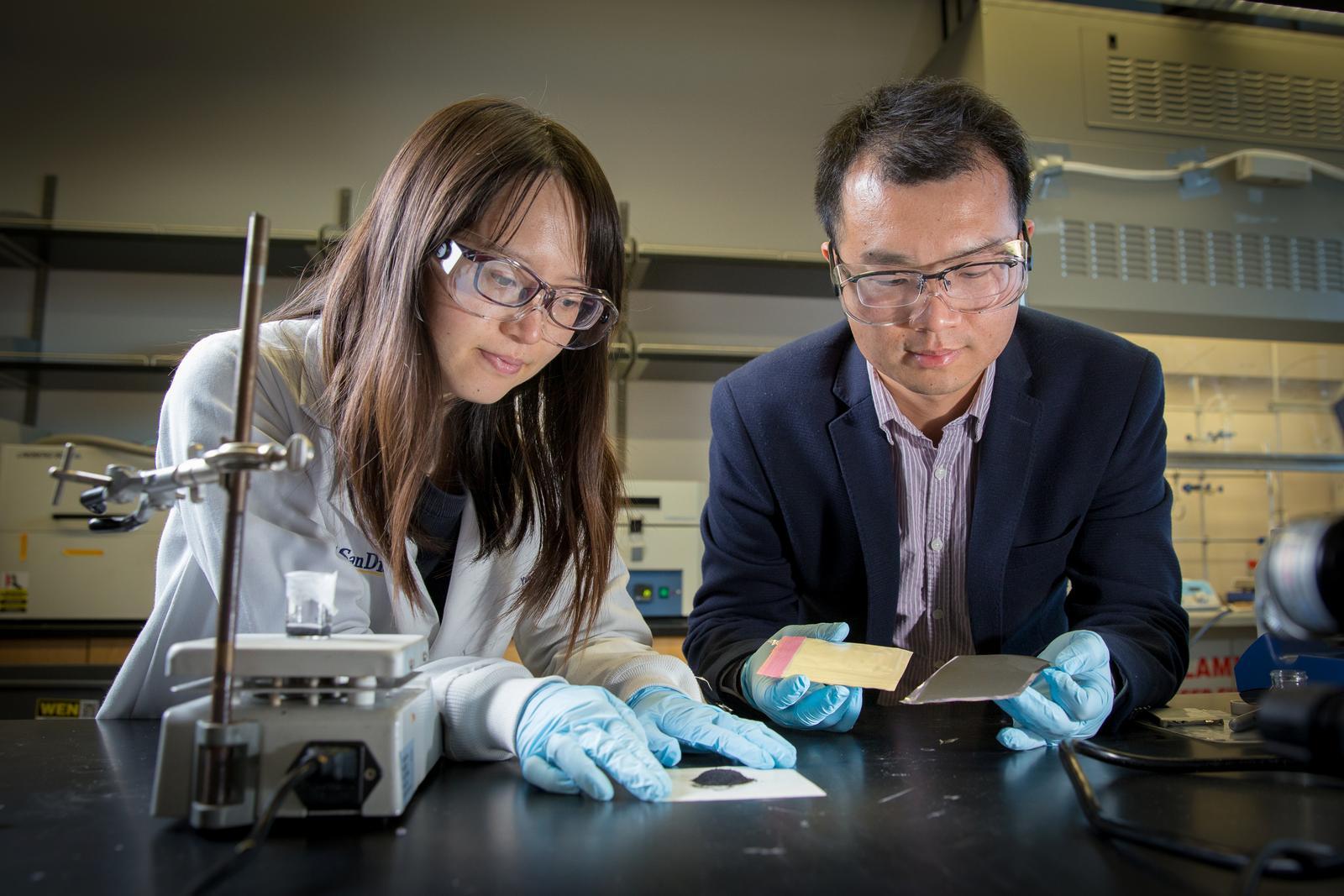 Yang Shi and Zheng Chen of UC San Diego