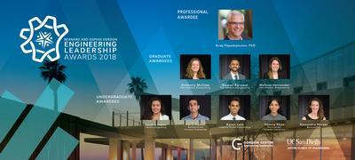 Engineering student leaders honored