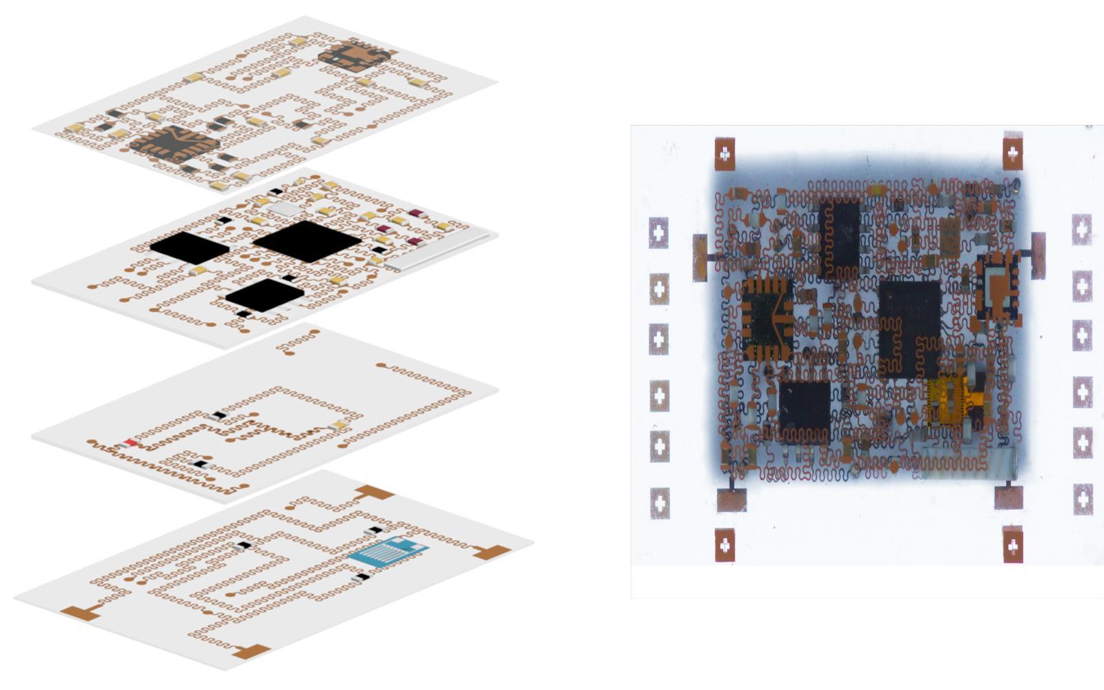 3D stretchable electronics