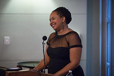 Equal Opportunity/Affirmative Action and Diversity Award Recipient Dr. Ebonee Williams