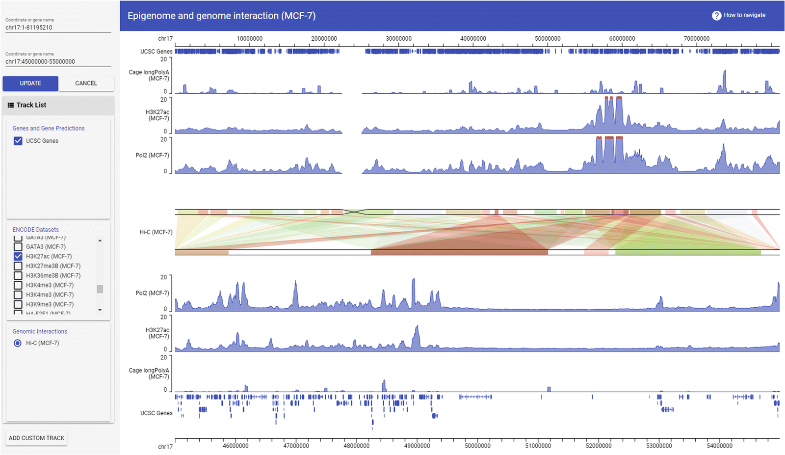 screenshot of GIVE programming library