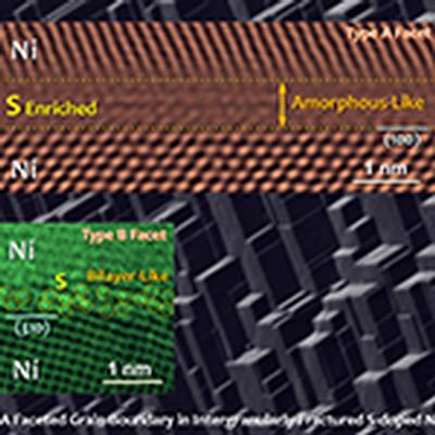 Close-ups of grain boundaries reveal how sulfur impurities make nickel brittle
