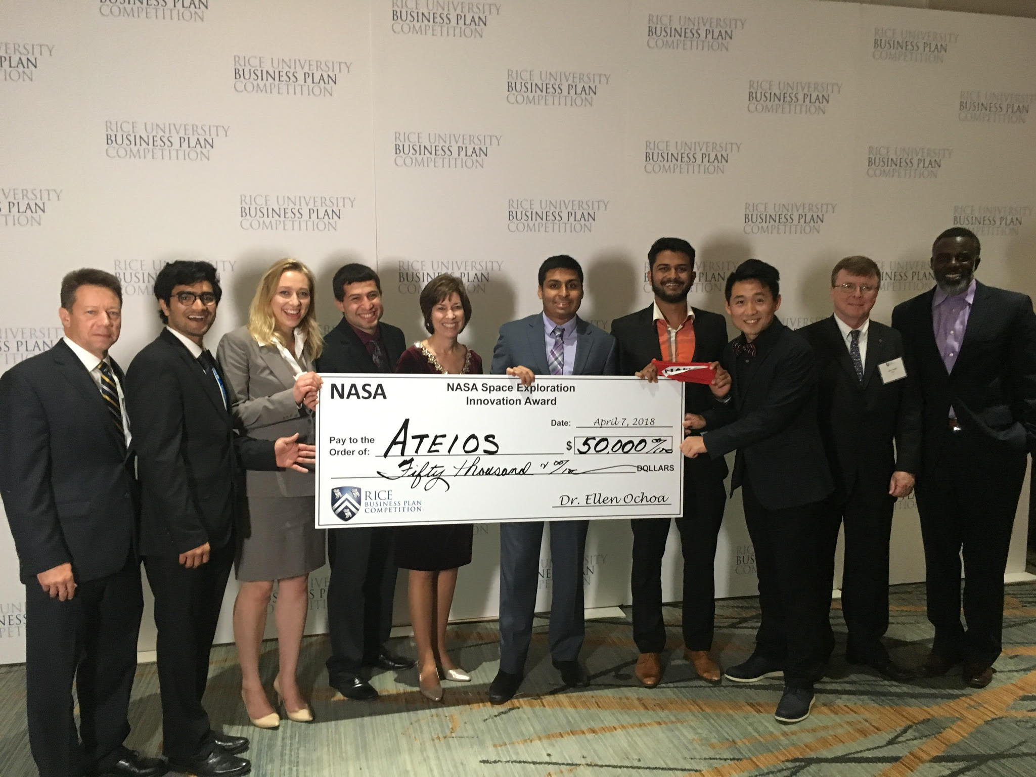 Battery startup flexes its muscles at Rice Business Plan Competition