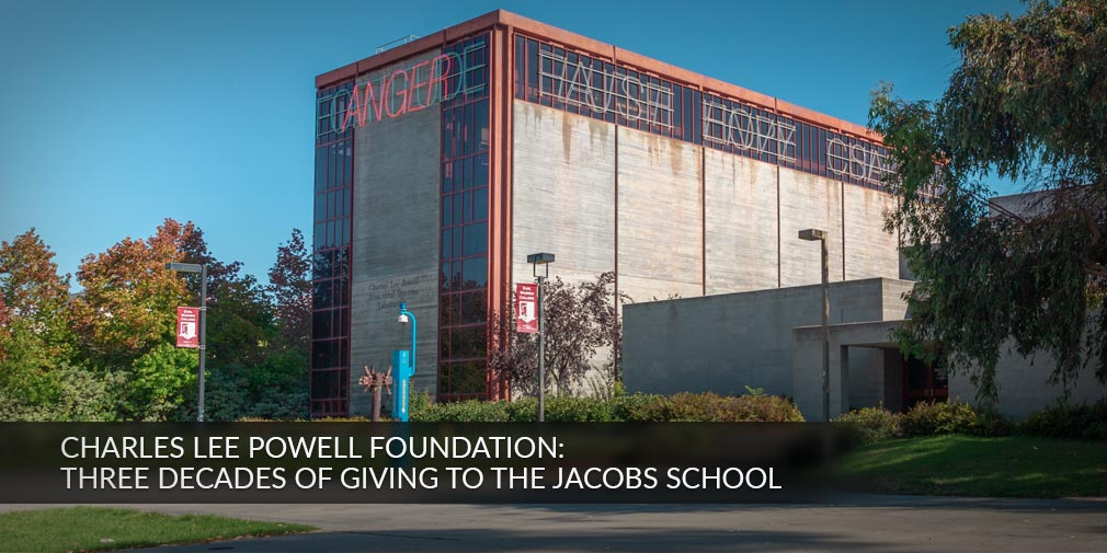 Charles Lee Powell Foundation: Three Decades of Giving to UC San Diego Jacobs School of Engineering