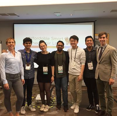 Students recognized for smart wheelchair research at CHI
