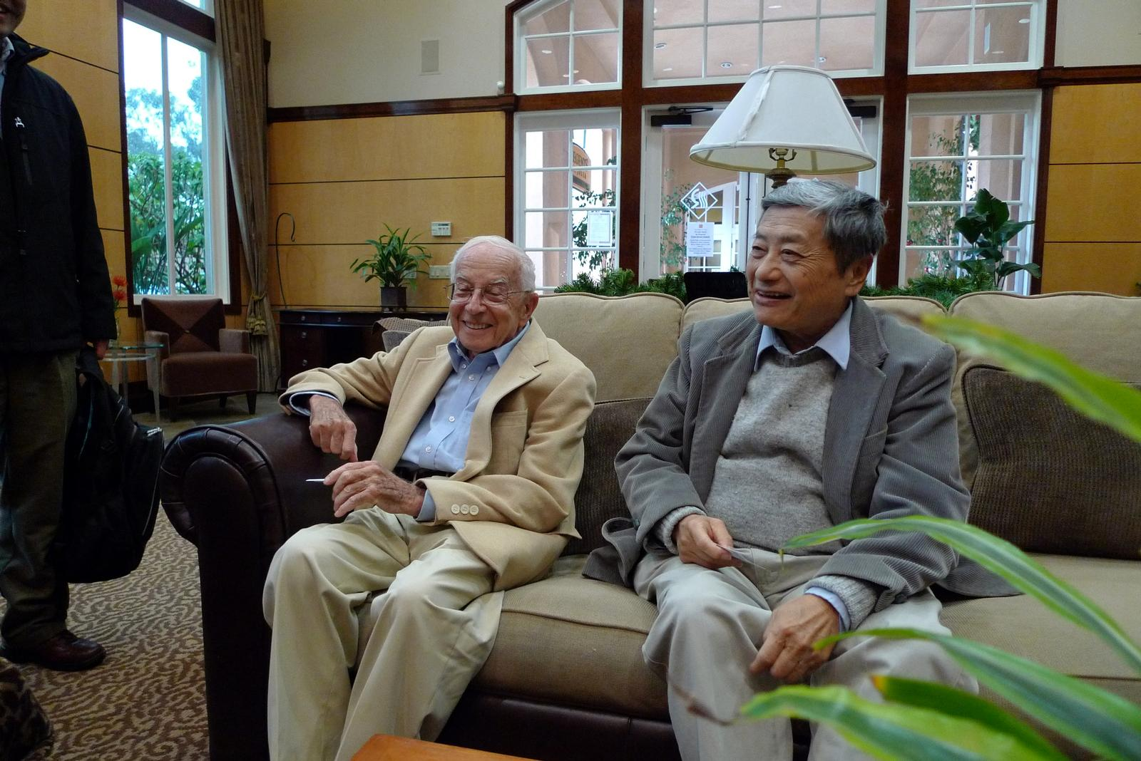 Harry Wieder and Bill Chang