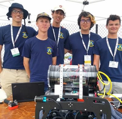Triton RoboSub makes its debut at international competition