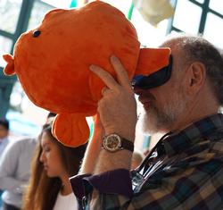 UC San Diego undergraduates design Birch Aquarium's first virtual reality exhibit
