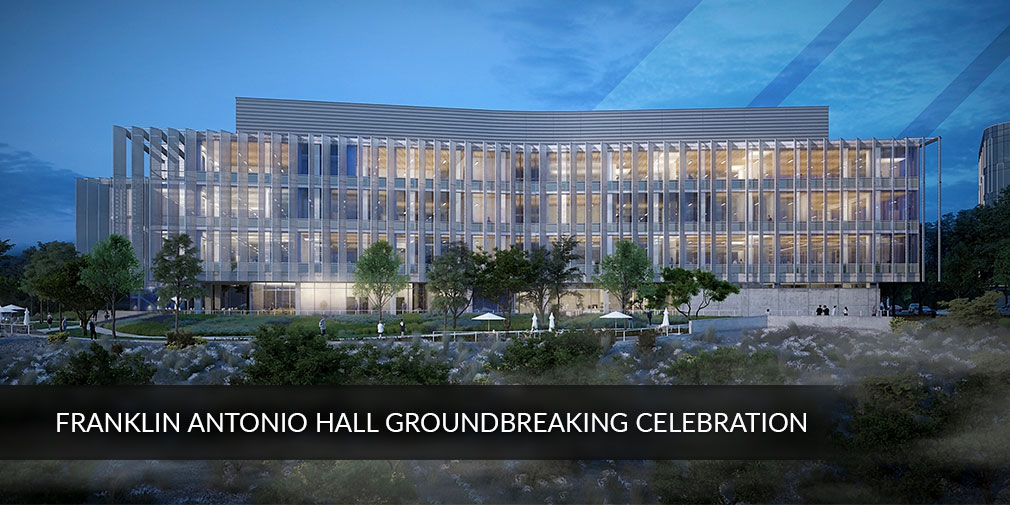 UC San Diego to celebrate Franklin Antonio Hall Groundbreaking