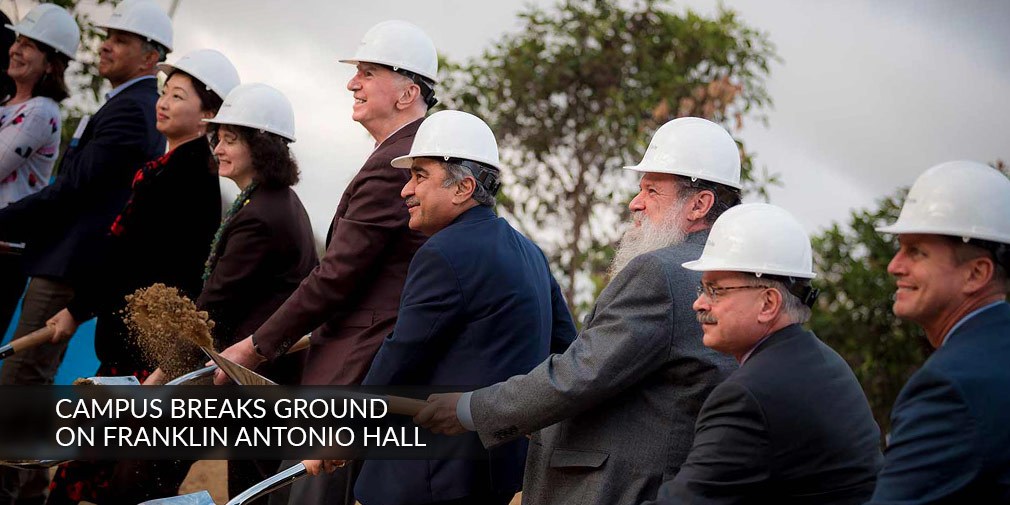 Franklin Antonio Hall Groundbreaking Celebration