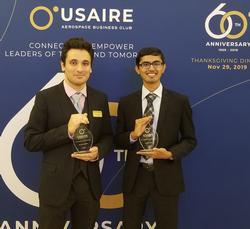 Electrical engineering student wins prestigious aerospace defense award