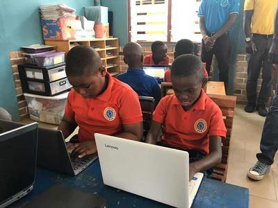 Undergraduate students bring Intranet to rural Ghanaian school